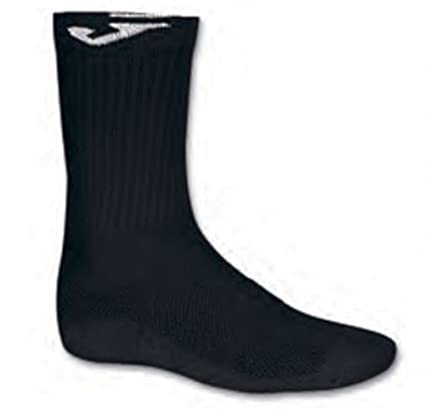 Joma - Sock Large Pack 12 Junior, Color Black, Talla 28