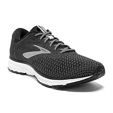 Brooks Australia Men's Revel 2 Road Running Shoes, Black/Grey, 8.5 US
