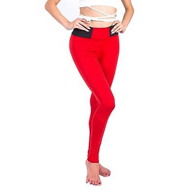 Tenxin Femme Pantalon de Yoga Sport Legging Elasticite Respirant Skinny  Sechage Rapide pour Yoga Pilate Course 74816a4e051b