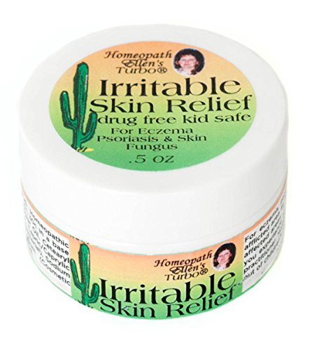 Irritable Skin Relief Cream by Homeopath Ellen's Turbo