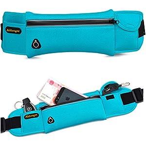 Aidonger Waist Belt Bag for Women Waterproof Sports Waist Pack