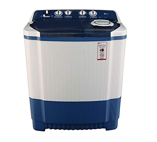 Lg 8 0 Kg Semi Automatic Top Loading Washing Machine P9037r3sm Dark Blue