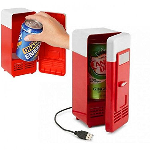 Neon Portable USB Powered Mini Fridge