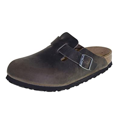 official photos 90819 cff96 BIRKENSTOCK Boston, Herren Hausschuhe, Grau - Grau - Iron ...