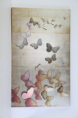 Butterfly Wall Decor Metal Wall Art for Bathroom Wall Decor