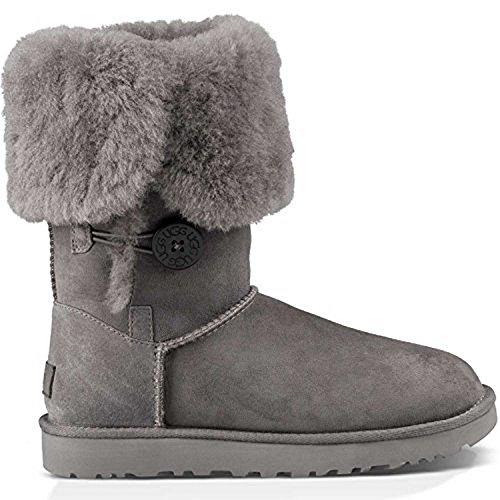 UGG Women's Bailey Button Triplet II Winter Boot - Grey -...