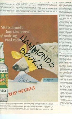 Wolfschmidt Vodka (Advertisement for Wolfschmidts Vodka with Borzoi