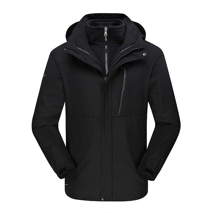 Amazon.com: Insun Mens Thick Warm Outdoor Waterproof ...