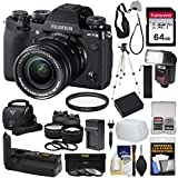 Fujifilm X-T3 4K Wi-Fi Digital Camera & 18-55mm XF Lens (Black) with VG-XT3 Grip + 64GB Card + Battery/Charger + Case + Flash + Tripod + 2 Lens Kit Review
