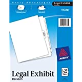 Avery Premium Collated Legal Exhibit Divider Set, Avery Style, 1-25 and Table of Contents, Side Tab, 8.5 x 11 Inches, 1 Set (11370)