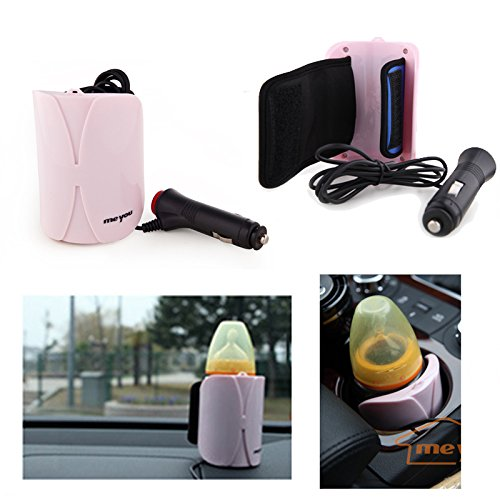 Baby Bottle Warmer Portable DC Car Heater Cover Food Milk Travel Cup Covers Bottle Auto Accessories 12V