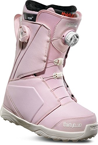 ThirtyTwo Women's Lashed Double Boa '18 Snowboard Boots, Size 5, Pink