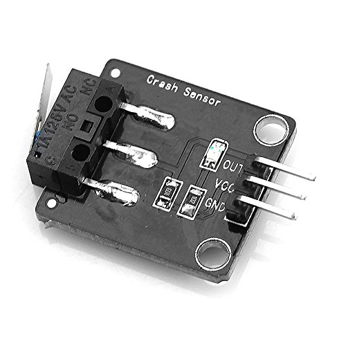 Price comparison product image Feamos Crash Collision Sensor Detection Module / w Switch for Arduino Smart Robot