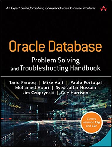 amazon com oracle database problem solving and troubleshooting
