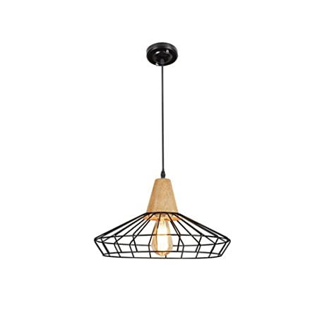 QL-Chandeliers Lámparas de Estilo rústico Americano Lámparas rústicas Estilo Americano E27 Portalámparas Araña Creativa