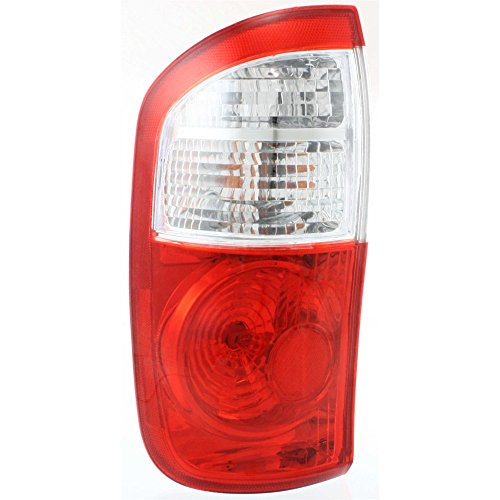 - Tail Light for Toyota Tundra 04-06 Assembly Clear/Red Lens W/Standard Bed Double Cab Left Side