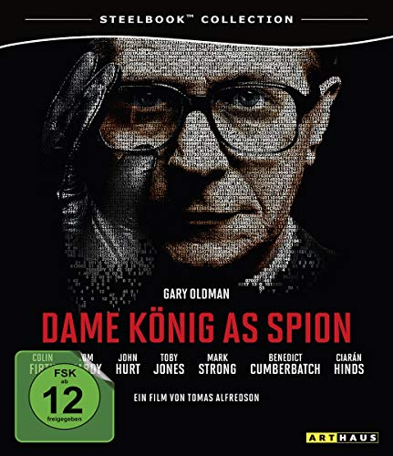 Tinker Tailor Soldier Spy German Blu Ray Steelbook Edition Region B
