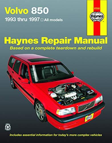 Volvo 850 Series 1993 thru 1997 (Haynes Manuals) (850 Store)