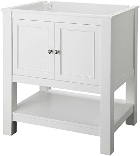 Foremost GAWA3022 Gazette 30 Vanity Cabinet Only in White