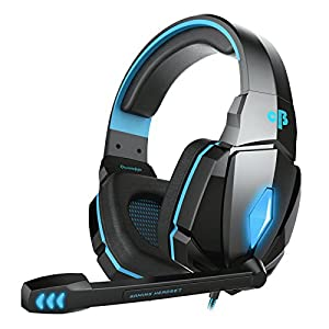 Cosmic Byte Over the Ear Headsets with Mic & LED – G4000 Edition (Blue)