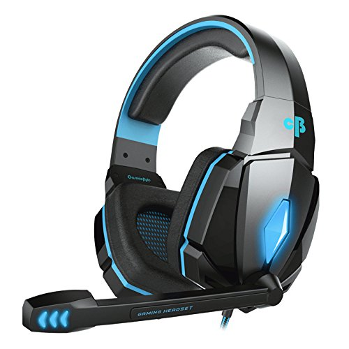 Cosmic Byte Over the Ear Headsets with Mic & LED - G4000 Edition (Blue) product image