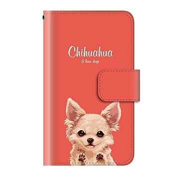 da4415cb6d Amazon | 犬 動物 ペット (手帳型)【09.チワワ】/ iPhone8 手帳型 ...