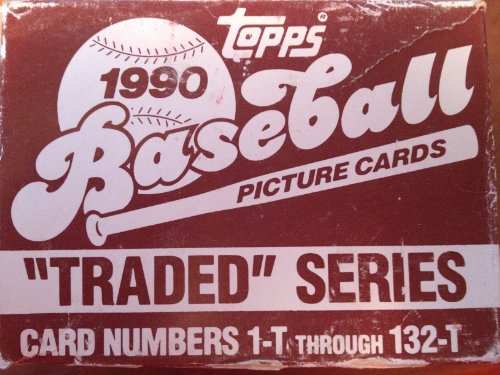 (1990 Topps Traded set - FACTORY SEALED )