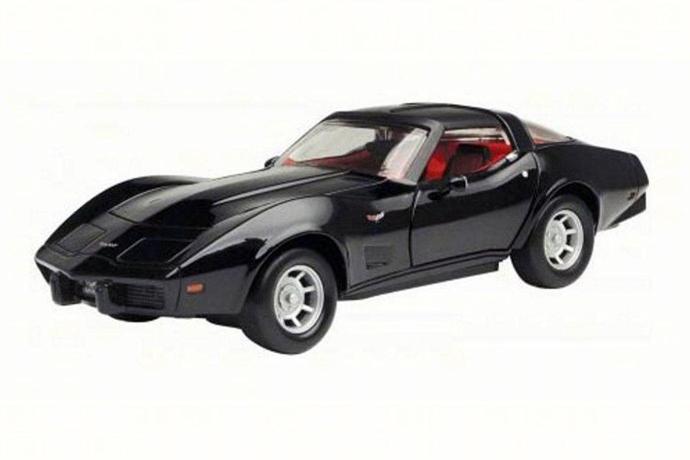 Motormax 1979 Chevy Corvette 1 24 Scale Diecast Model Car Black