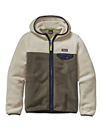 Patagonia Boys' Light Weight Synch Snap-T Hoody Light Bog L