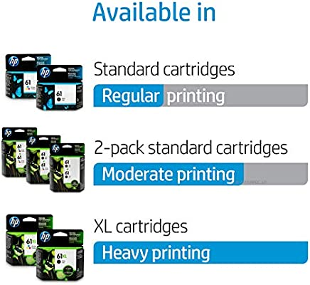 HP 61 Tricolor Economy Ink Cartridge B3B08AN EXPIRED 2014 Lot OF 4!!