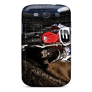 Premium Protection Fox Racing Case Cover For Galaxy S3- Retail Packaging
