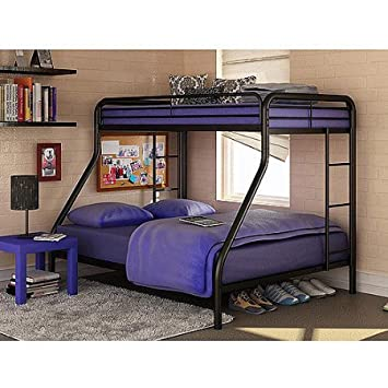 dorel bed beds full twin com metal dp multiple amazon bunk over colors