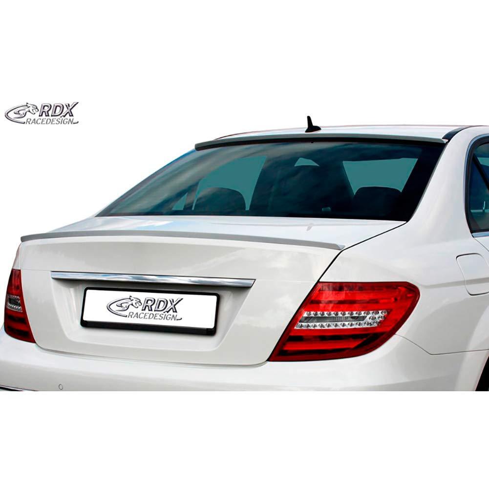 RDX Redesign RDHL487 Dhspoilerlippe C-Klasse W204 Limousine ABS Schwarz