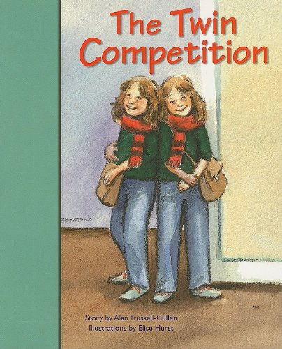 Rigby PM Stars Bridge Books: Individual Student Edition Turquoise The Twin Competition PDF