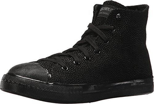 Skechers Street Women's Utopia - Sting Rey Black/Black 7.5 B US