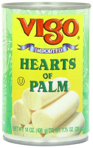 Vigo Hearts of Palm, 14 Ounce (Pack of 12)