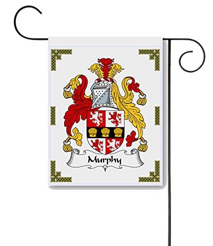 (Carpe Diem Designs Murphy Coat of Arms/Murphy Family Crest 11 X 15 Garden Flag - Made in The U.S.A.)