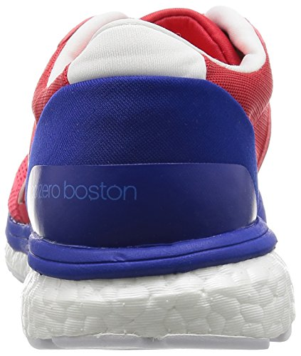 adidas Adizero Boston 6, Zapatillas de Running para Hombre, Rojo Rojo (Ray Red /ray Red /bold Blue)