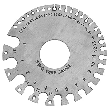 Wire gauge tool needed is the gauge size unfortunately there is no ez way to know actual wire size of an insulated wire httpsamazonstainless steegauge tool greentooth Image collections