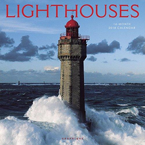 Graphique 2018 Lighthouses Wall Calendar