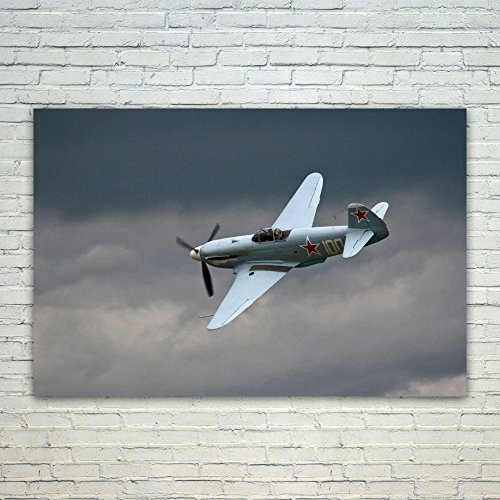 Original Cockpit Bomber - Westlake Art - Poster Print Wall Art - Airplane Aircraft - Modern Picture Photography Home Decor Office Birthday Gift - Unframed - 18x12in (a15z)