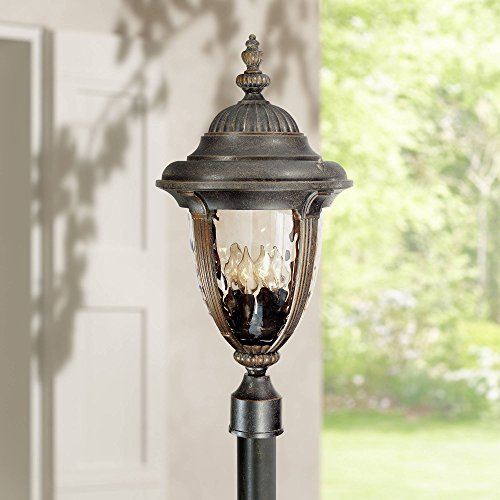 Bellagio Traditional Outdoor Light Post Fixture Veranda Bronze 24 1/2
