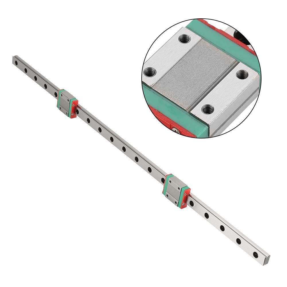 2 pezzi MGN12B blocchi di scorrimento ampiamente utilizzati per apparecchiature automatiche 450mm di guida lineare guida blocchi lineari MGN12 guida di guida lineare miniatura guida 12mm larghezza