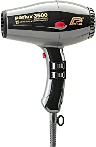 Parlux 3500 Ceramic & Ionic Dryer 2000W, Black