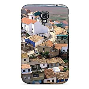 (amnkKIA4050hXVRm)durable Protection Case Cover For Galaxy S4(town Of Odeceixe In Portugal)