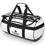 Duffel Bag with Backpack Straps for Gym, Travels and Sports - SANDHAMN Duffle