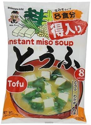 Miyasaka Japanese Miso Soup, Tofu, 6.04 Ounce by Miyasaka