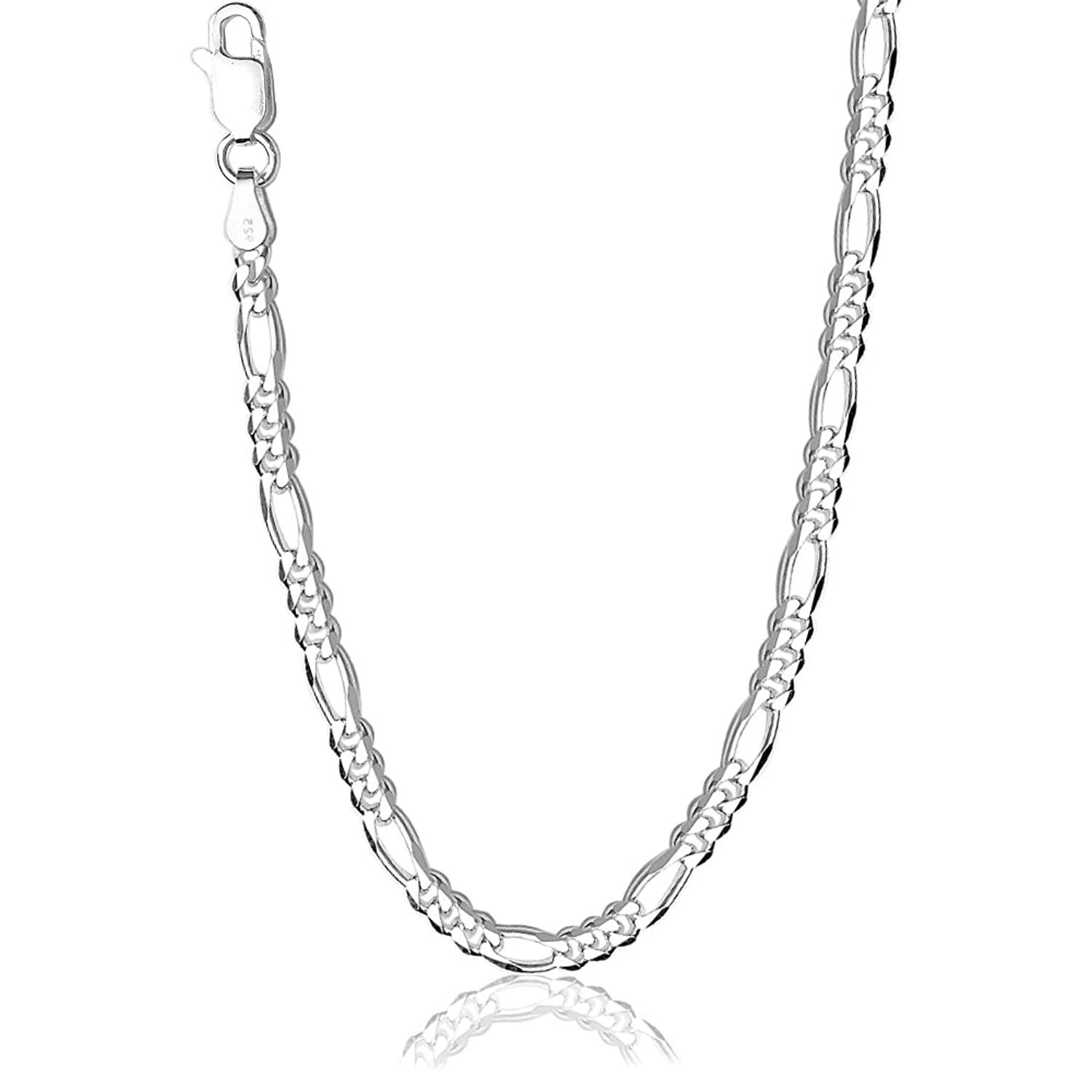 Taraash Neck Chain 925 Sterling Silver For Men AFGH1006C20IN ...