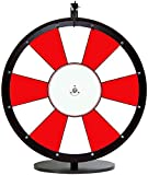 24in Red and White Dry Erase Spinning Prize Wheel