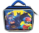 LEGO MOVIE BATMAN & ROBIN DC 3D Lead-Safe Insulated Lunch Tote Box